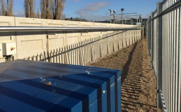 Concrete effluent tank helps hospital meet standards