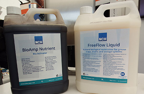 Biological wastewater solution eats away blockages