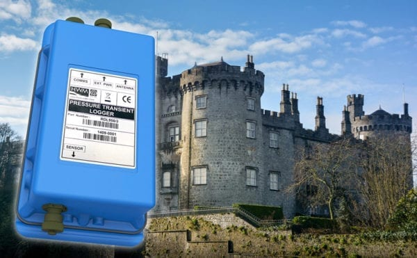 Pressure transient loggers resolve burst water mains mystery in County Kilkenny