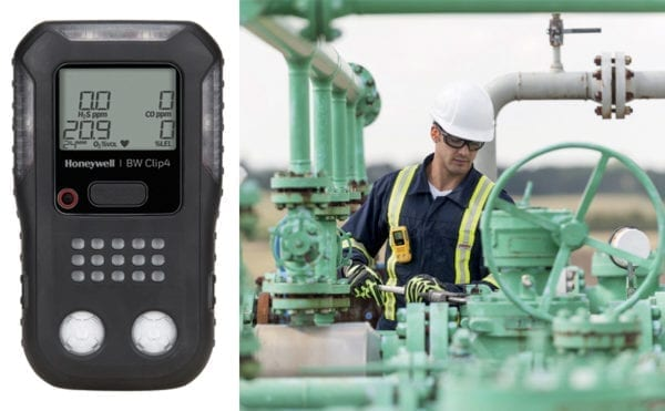 Portable multi-gas detector offers fit and forget functionality