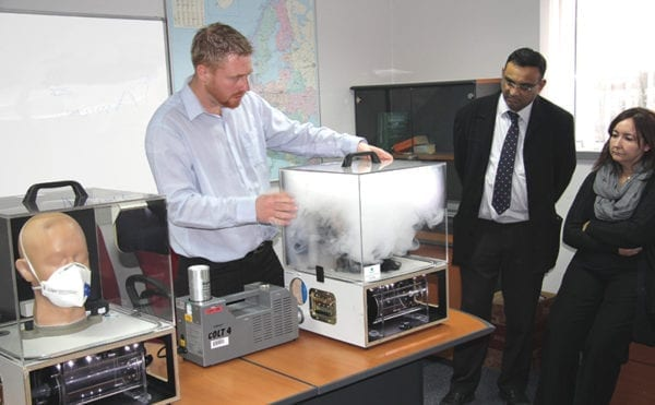 Workshop focuses on dust protection