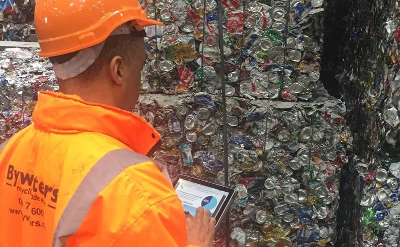 Same-day waste audits available with new app