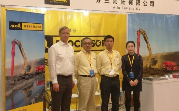 New solution for hardening soft ground launched by ALLU at Shanghai summit