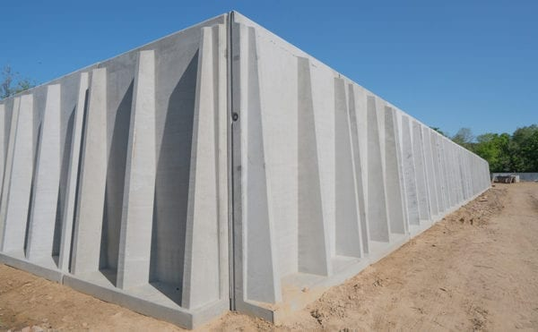 AD plant secured with concrete safe storage solution