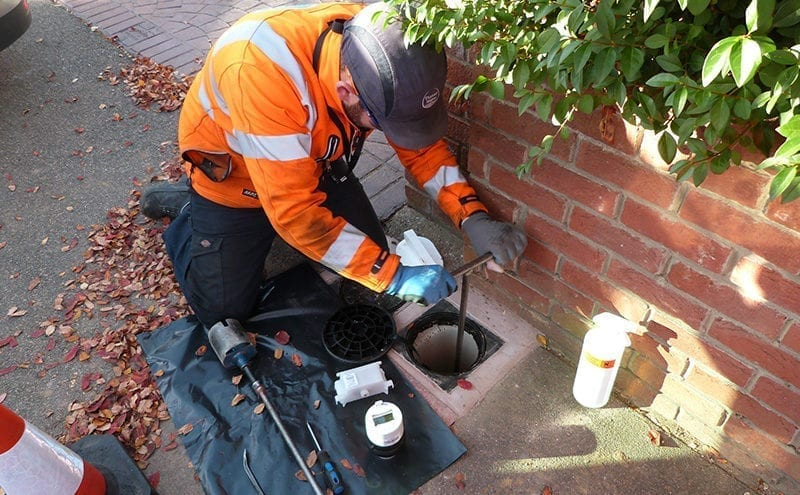 50,000-litres-a-day leak spotted with smart meters
