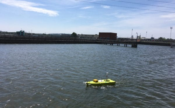 Remote-controlled boat helps monitor sediment build-up, says Thames Water