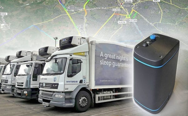 Real-time air quality monitoring to be used for low-emissions lorry trial