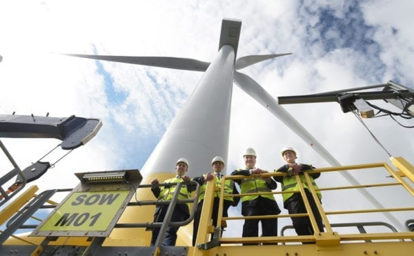 £920k boost to Scotland's offshore wind ambitions