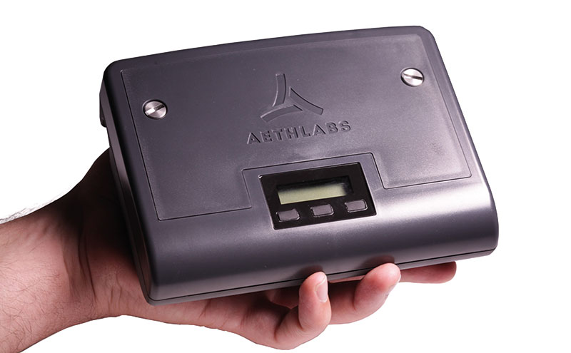 The MA200 provides continuous monitoring of black carbon levels.