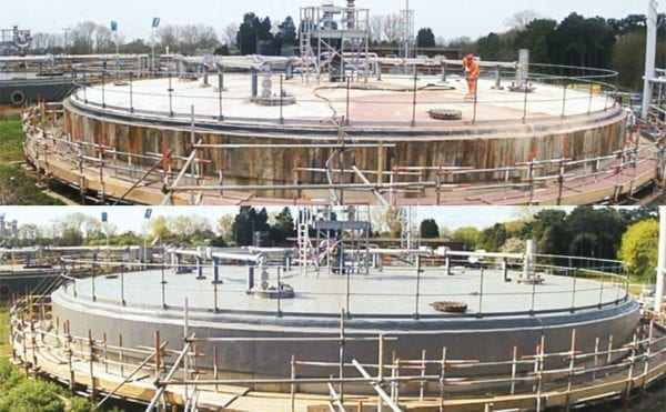 Case study: Asset refurbishment at Oxford treatment works