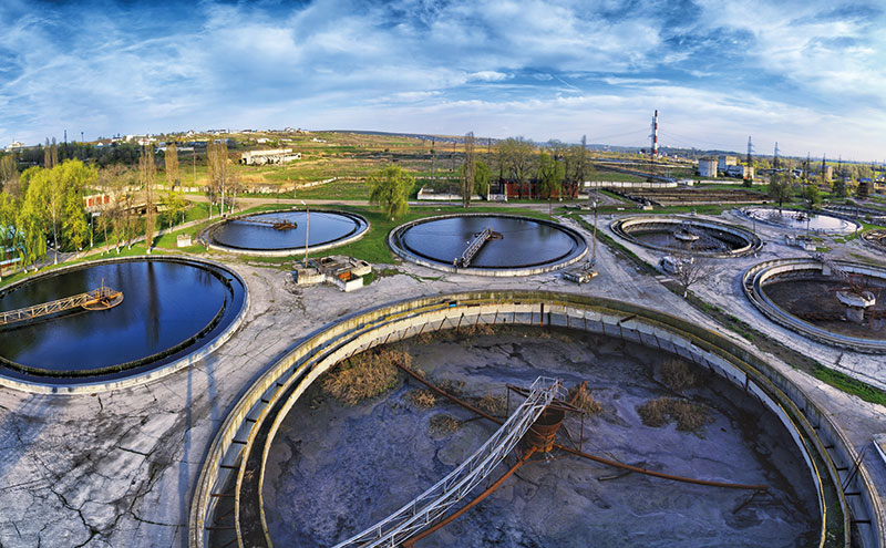 Activated sludge is the preferred option for treating sewage from large municipal areas.