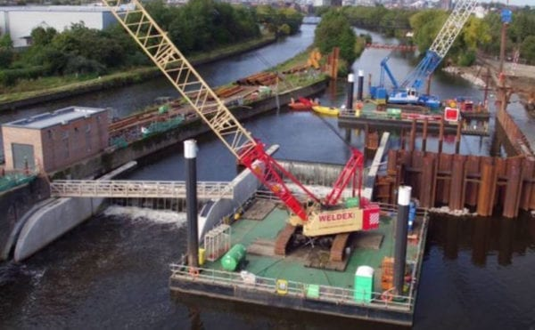 Leeds flood alleviation scheme wins large project award