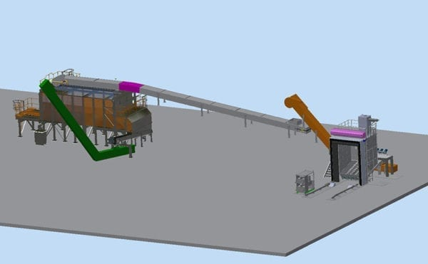 Fuel handling solution chosen for UK's first commercial bio-substitute natural gas plant