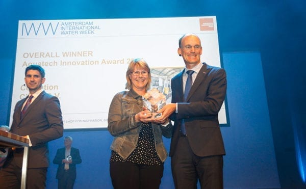 Cellulose recovery method picks up the Aquatech Innovation Award 2017