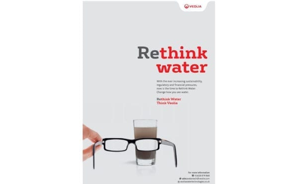 """""""Businesses need to change how they see water"""", insists Veolia during launch of initiative promoting its own services"""