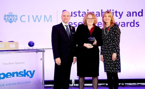 PVC takeback scheme for medical devices wins CIWM recycling award