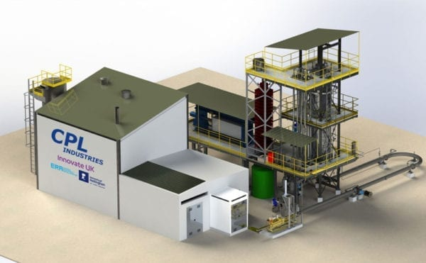Plans announced for UK's first commercial‐scale hydrothermal carbonisation facility