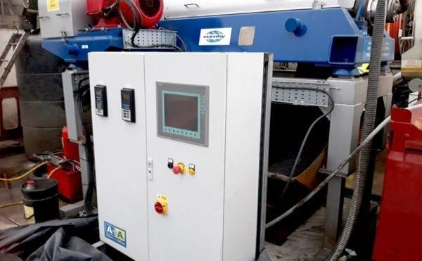 Centrifuge improves sludgy waste handling in Manchester
