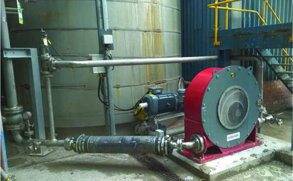 Case study: Process pumps and valves for filter feed processes