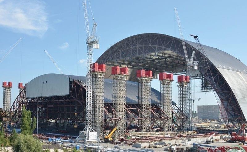 Chernobyl ventilation work concludes