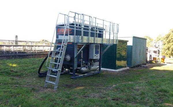 DAF unit is temporary solution for sludge blockage