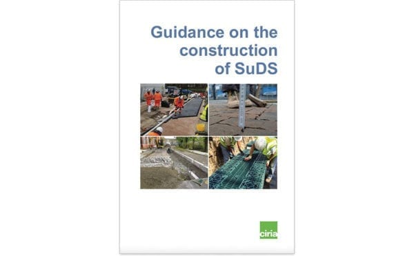CIRIA issues new SuDS construction guidance