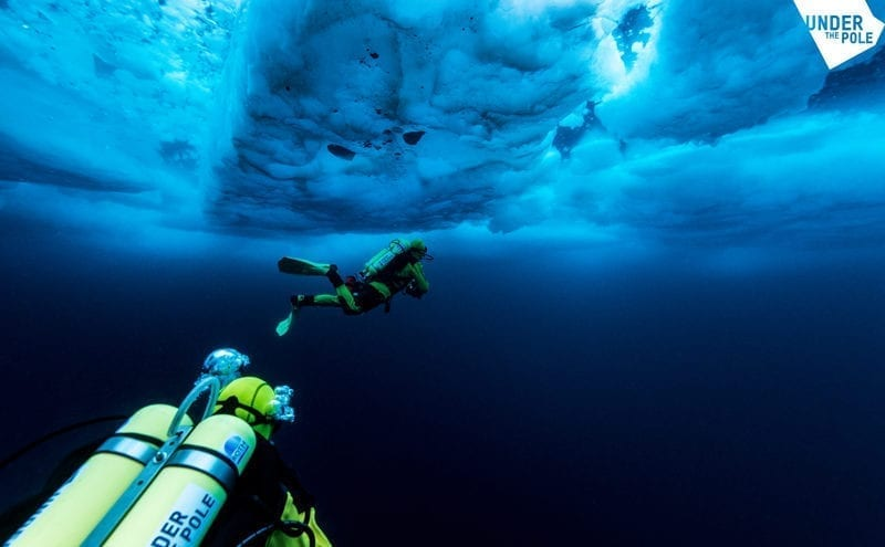 French expedition aims to advance understanding of what lies beneath the Arctic ice