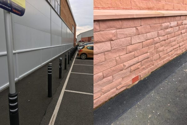 Flood mitigation solution installed for supermarket in Carlisle