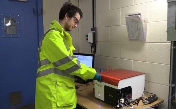 Utility claims European first for online, in situ water sampling