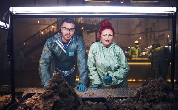 TV documentary performs fatberg autopsy under London's streets