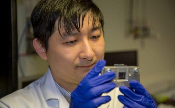 Solar hydrogen breakthrough at Heriot-Watt University
