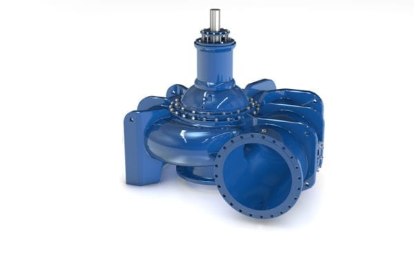 New gigantic pumps for wastewater transport