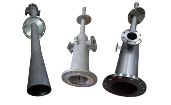 Why use Venturi ejectors for tank aeration?