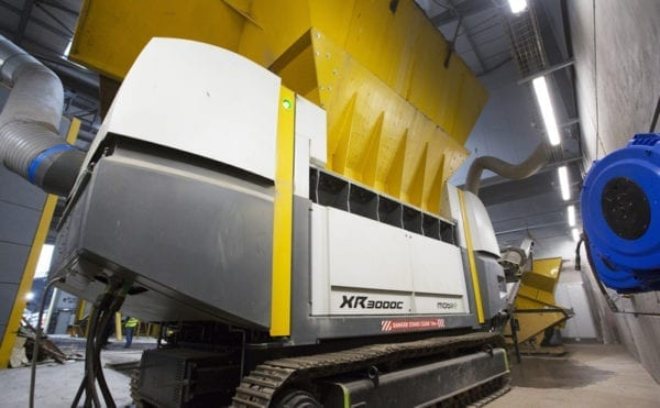 Shredder investment reduces fuel consumption by 60% at Waste to Energy plant