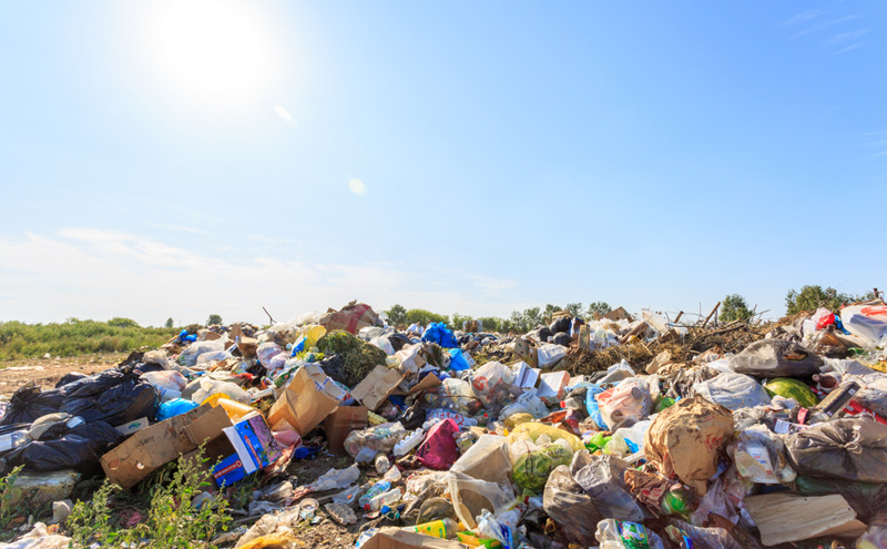 Is plastic and paper sent overseas for recycling ending up in landfill?