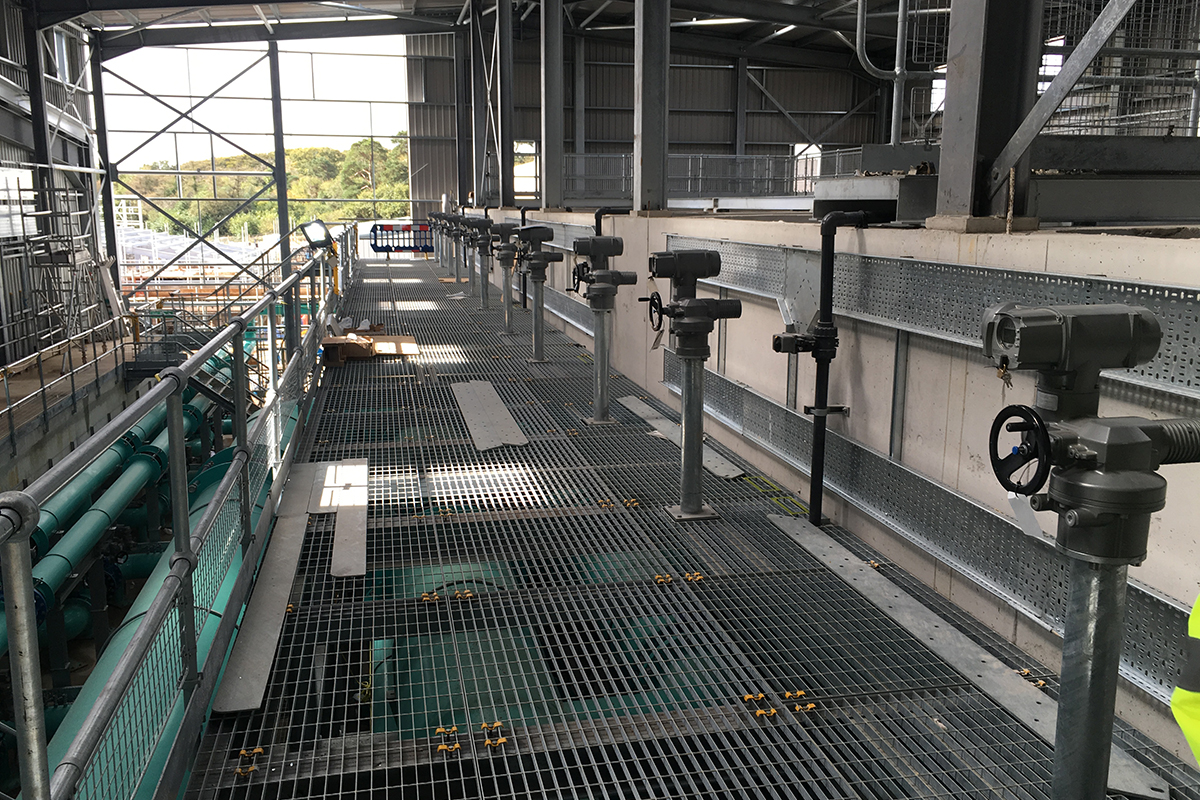 Mayflower water treatment works