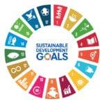 sustainable goals circular icon