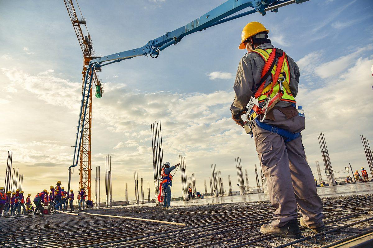 construction and concrete