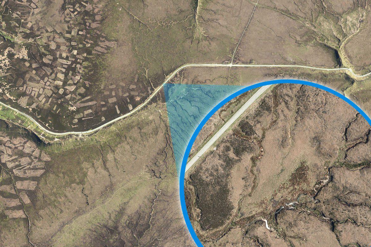 Bluesky aerial map