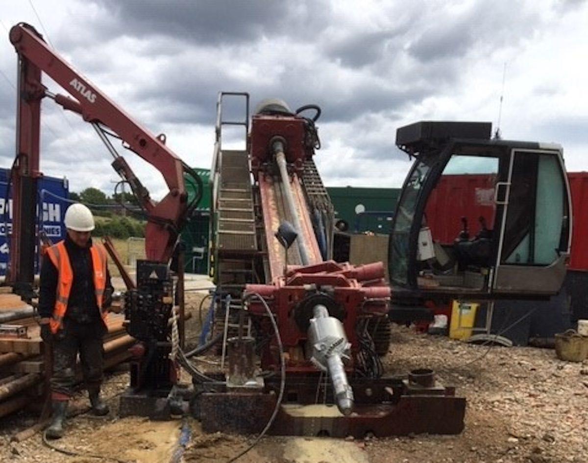 Selborne drilling operation
