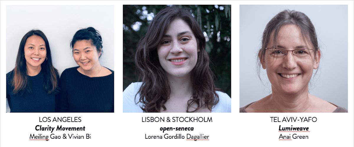 Women4Climate Tech challenge finalists