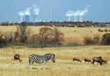 Powerplant in Africa