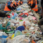 Waste sorting at a recycling plant in Sterlitamak, Russia, in 2019. Image: Shutterstock.com/Vitaly Fedotov