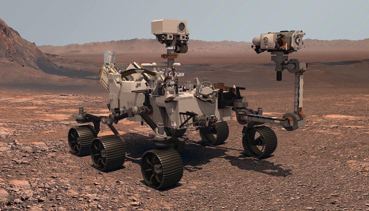 Perseverance-on-Mars-illustration