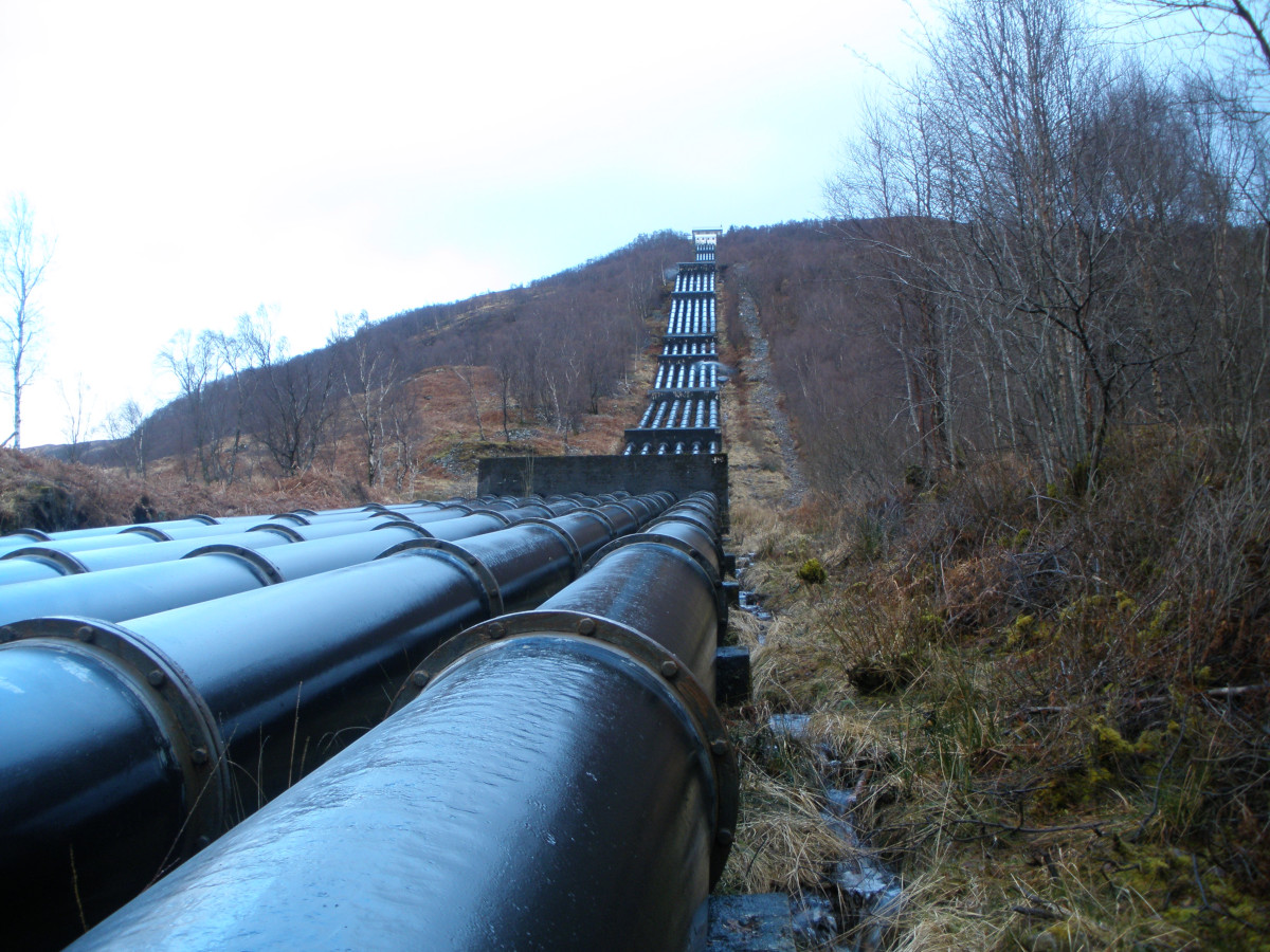 Pipeline-from-Blackwater-reservoir-to-the-Alcan-Power-Station-in-Kinlochleven