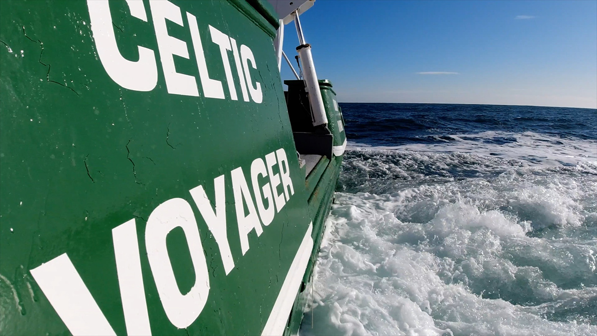 Celtic Voyager vessel - SeaMonitor project