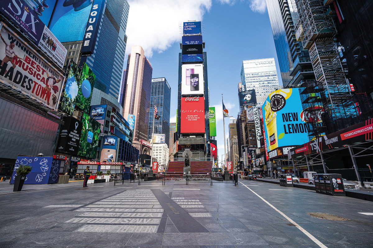Times-Square-in-March-2020