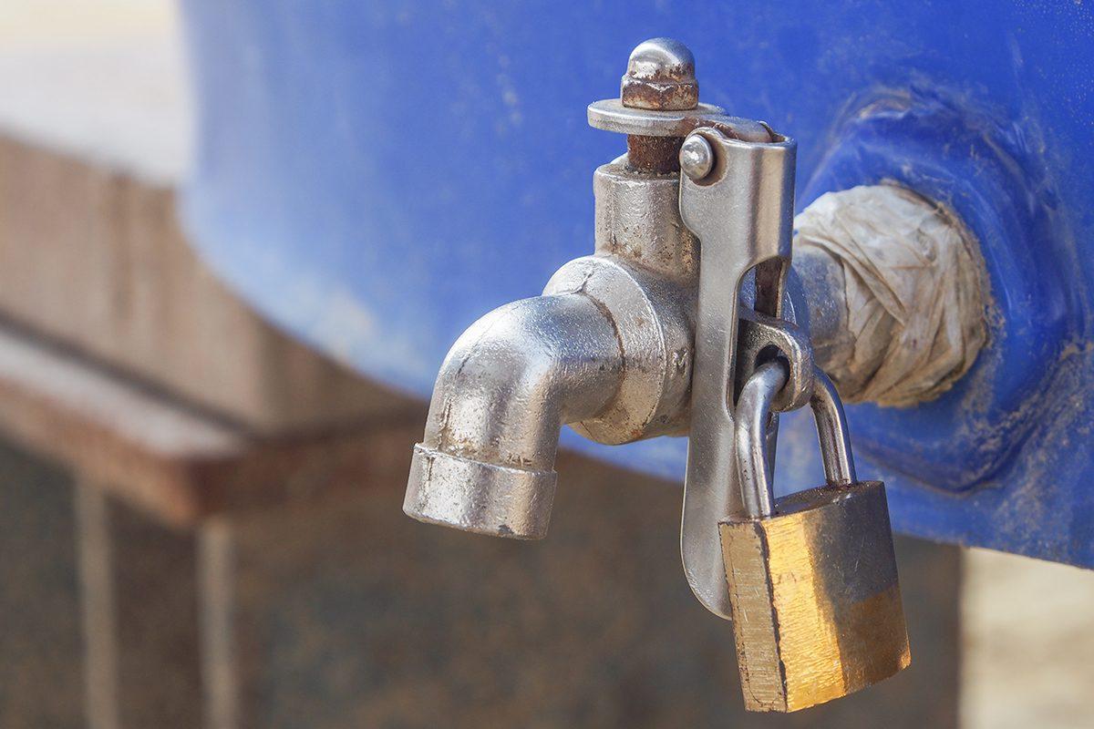 water shutoff