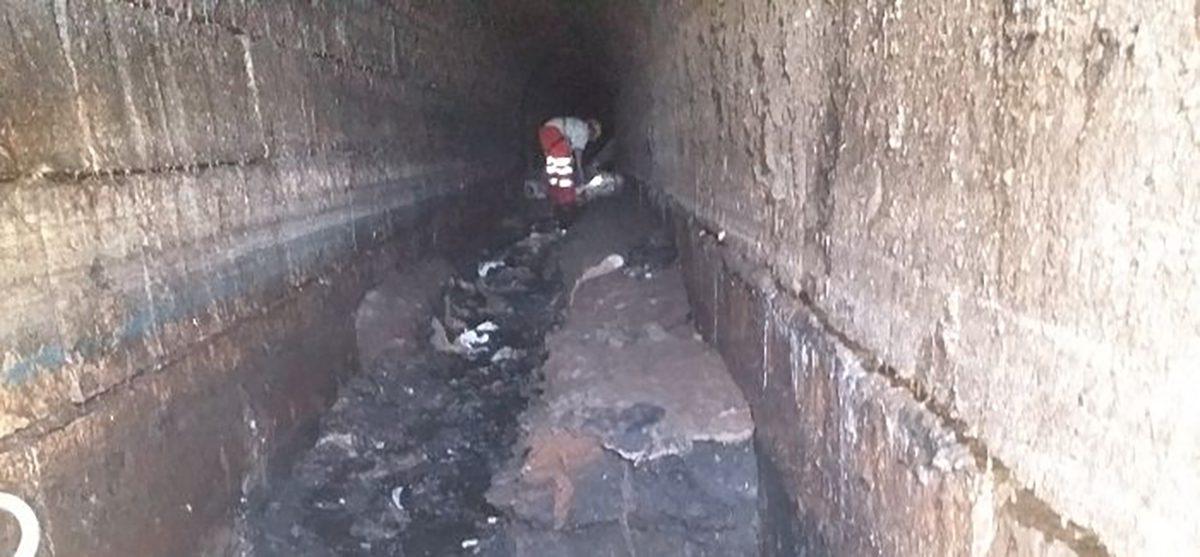 Plymouth sewer fatberg