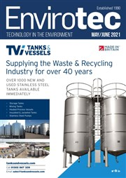 Envirotec Magazine front cover January and February 2021